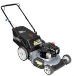 CRAFTSMAN 37430 21 INCH 140CC BRIGGS AND STRATTON GAS POWERED 3-IN-1 PUSH LAWN MOWER