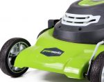 Green works 25022 12 amp 20 inch corded electric lawn mower
