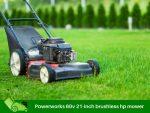 Powerworks 60v 21-inch brushless hp mower