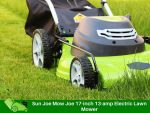 Sun Joe Mow Joe 17-inch 13-amp Electric Lawn Mower