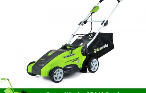 GreenWorks 25142 Review – Amazing Mower