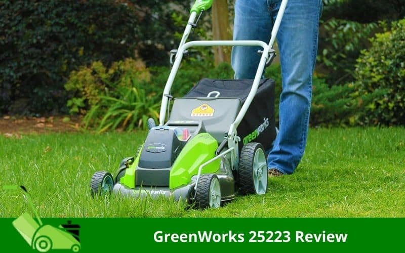GreenWorks 25223 Review