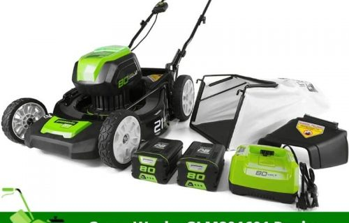 GreenWorks GLM801601 Review – Best-suited Lawn Mower for Small Lawns