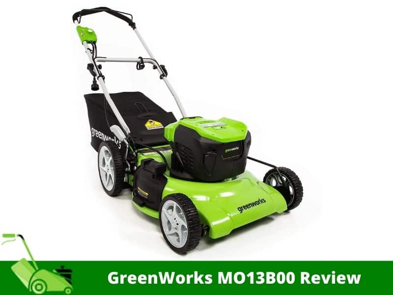 GreenWorks MO13B00 Review