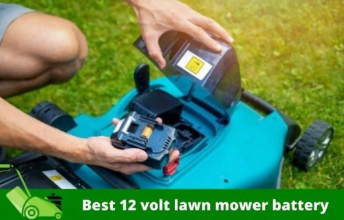 Best 12 volt Lawn Mower Battery For Your Optimal Execution