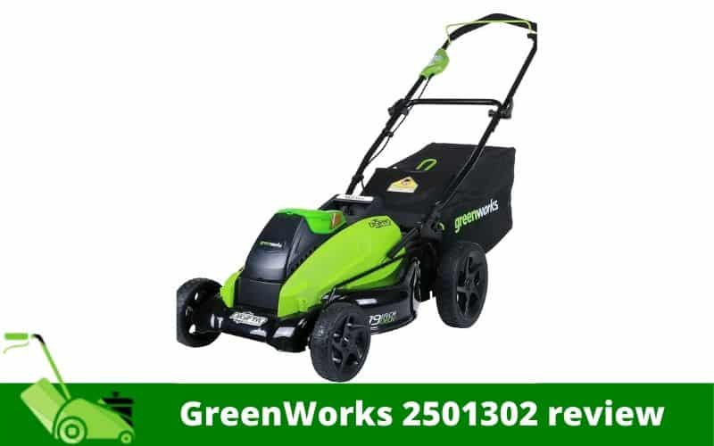 GreenWorks 2501302 review