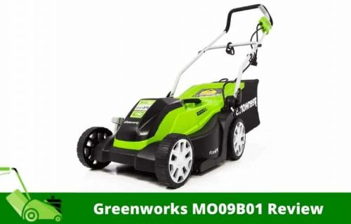 Greenworks MO09B01 Review