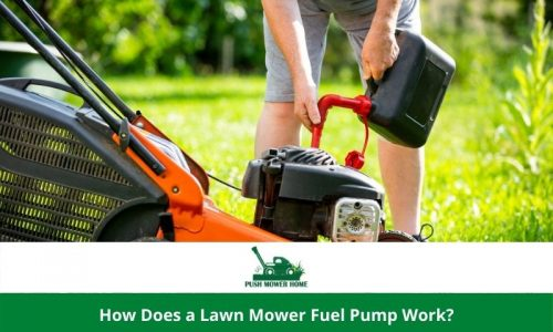How Does a Lawn Mower Fuel Pump Work?