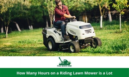 How Many Hours on a Riding Lawn Mower is a Lot | Use it Much Longer Than its Shelf Life.