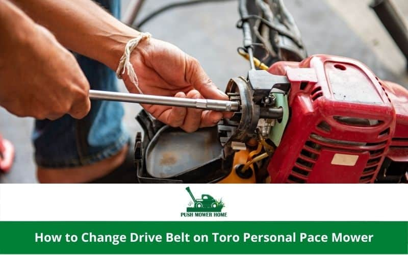How to Change Drive Belt on Toro Personal Pace Mower