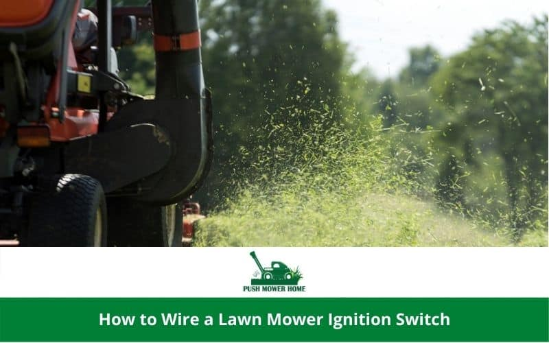 How to Wire a Lawn Mower Ignition Switch
