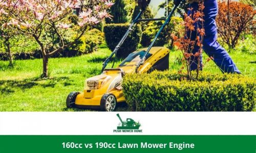 160cc vs 190cc Lawn Mower Engine| Major Differences in a Nutshell
