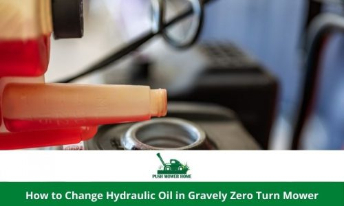 How to Change Hydraulic Oil in Gravely Zero Turn Mower