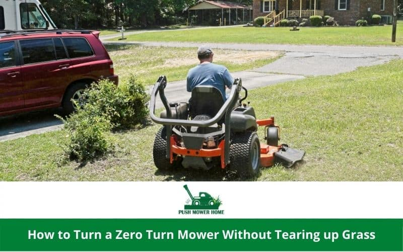 How to Turn a Zero-Turn Mower Without Tearing up Grass
