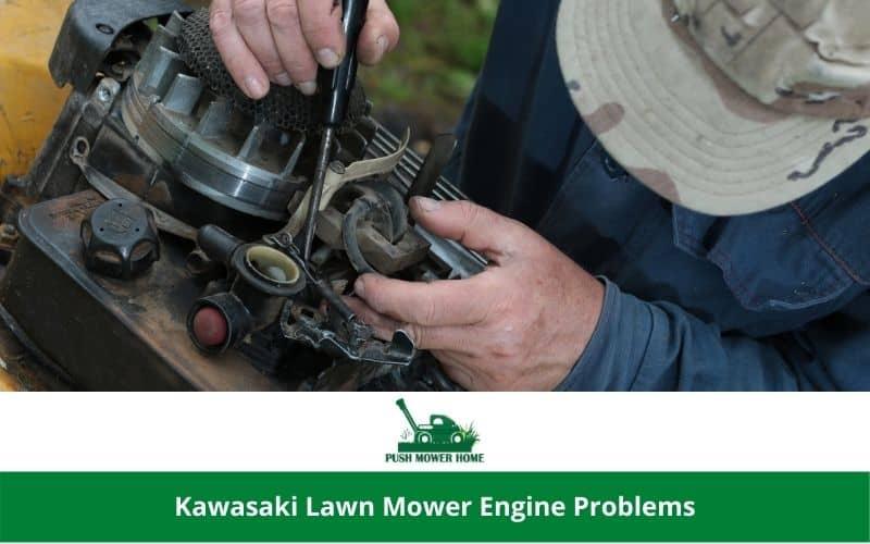 Kawasaki Lawn Mower Engine Problems