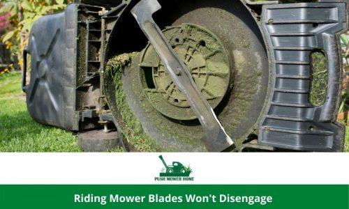 Riding Mower Blades Won't Disengage | We Have a Solution
